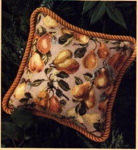"Cross-stitch pattern ""Pears"""