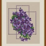 "Cross-stitch pattern ""Retro"""