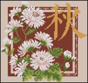 free-cross-stitch-design-chrysanthemum