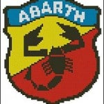 cross-stitch patterns abarth
