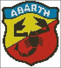 cross-stitch patterns abarth