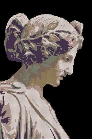 "Free cross-stitch pattern ""Ancient Greece"""