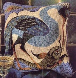 free cross-stitch patterns for pillow