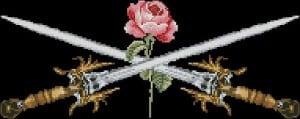 flowers cross-stitch patterns