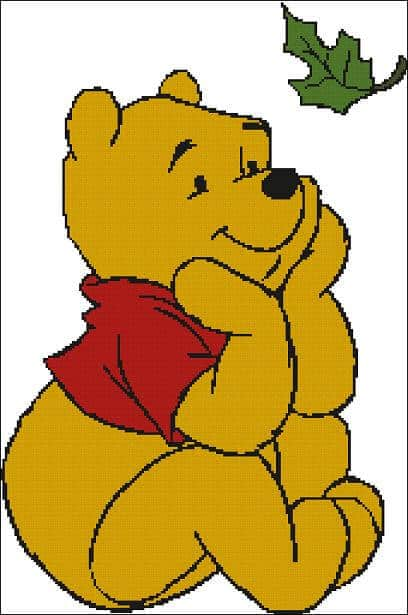 "Cross-stitch design ""Winnie the Pooh- Dreams"""