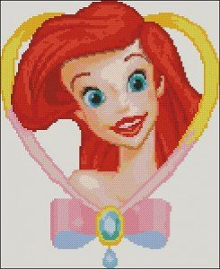free disney cross-stitch patterns