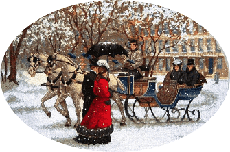 "Free Cross-stitch pattern "" Winter"""