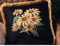 free cross-stitch flowers