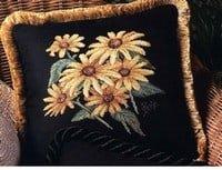 free cross-stitch flowers