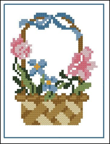 "Free Disney cross-stitch pattern ""Arial"" 