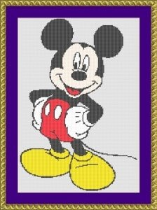 disney cross-stitch designs