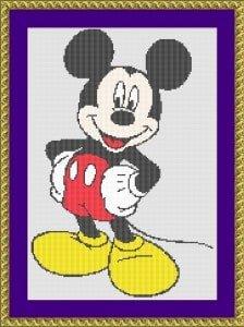 disney cross-stitch designs