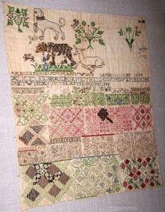 history of cross-stitch
