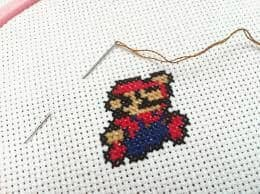 how to cross-stitch, cross-stitch tutorial