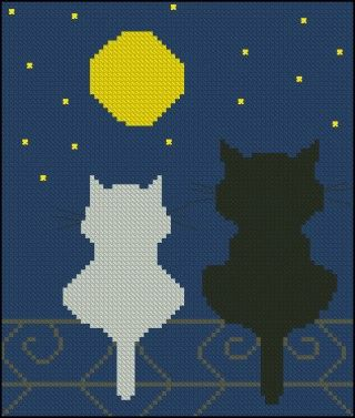 free cross-stitch pattern for beginners