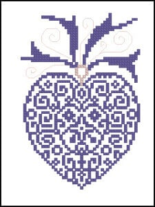 free cross-stitch patterns for Christmas