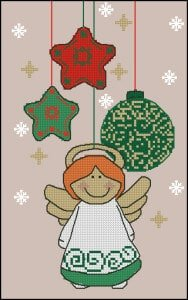 cross-stitch patternsChristmas