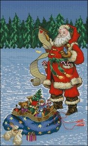 Christmas cross-stitch designs