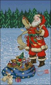 Christmas cross-stitch designs