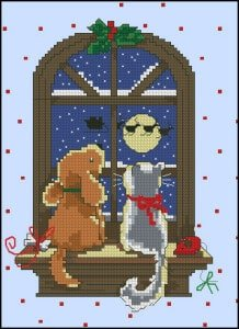 cross-stitch patterns Christmas
