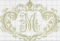 monogramms cross-stitch