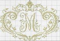monogramms cross-stitch