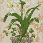 cross-stitch flowers