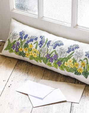 draught excluder cross-stitch