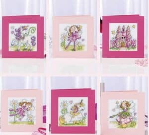 Fairytale cards-cross-stitch design