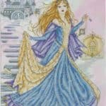 "Free cross-stitch design ""Fairy princess"""