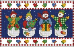 free-cross-stitch-pattern-snowmen