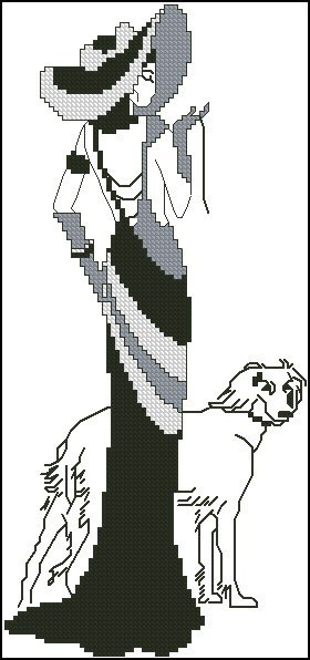 lady-dog-free-cross-stitch-pattern