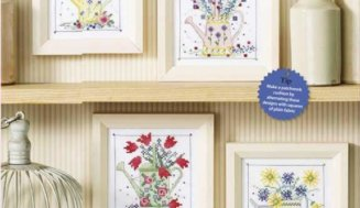 Garden glory- free cross-stitch patterns