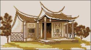 free-cross-stitch-pattern-oriental-house