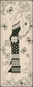 girl-flowers-blackwork-design
