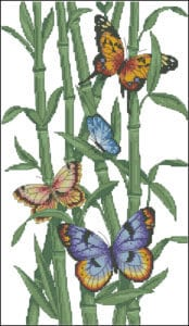 cross-stitch-design-butterflies-and-bamboo