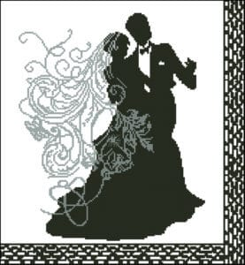 wedding- dance-free- cross-stitch- pattern
