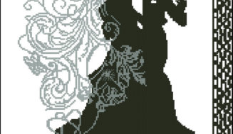 Wedding dance-free cross-stitch pattern