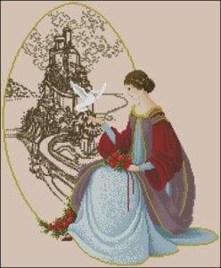 cross-stitch-pattern-woman-dove