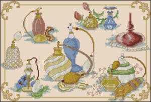 perfume-beauty-free-cross-stitch-pattren