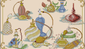Perfume and Beauty-free cross-stitch pattren