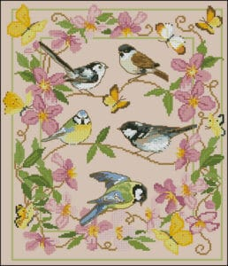 spring-birds-free-cross-stitch-design