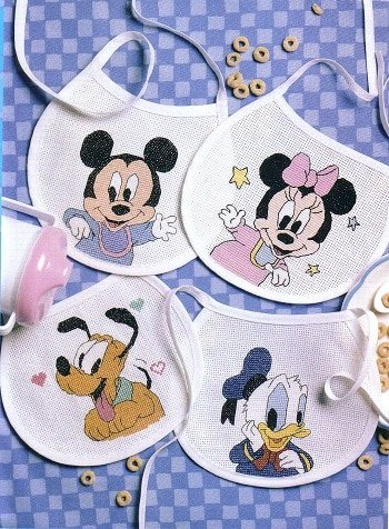 Cross stitch chart mickey mouse and minnie balloons Flowerpower37-uk