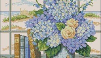 Summer dream-cross-stitch pattern