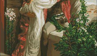 Romeo and Juliet-cross-stitch pattern