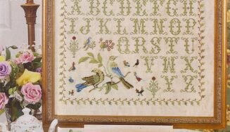 BIRD SAMPLER-cross-stitch pattern