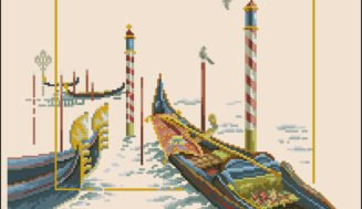 Venice-cross-stitch pattern